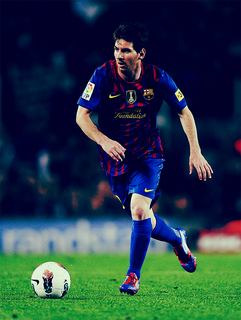 Soccer Players Messi The greatest ga...