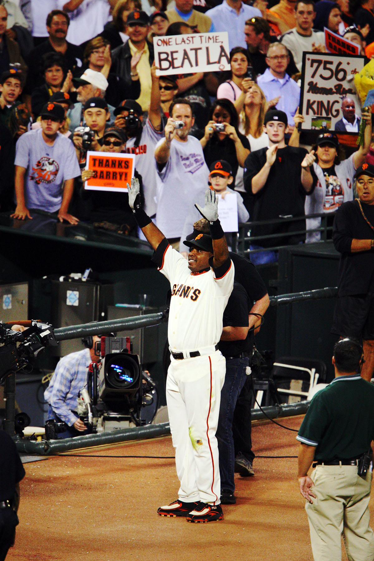Barry Bonds Home Run King