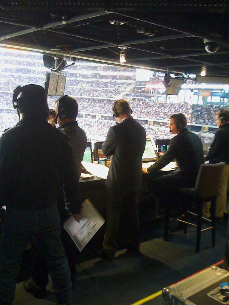 Fox booth crew
