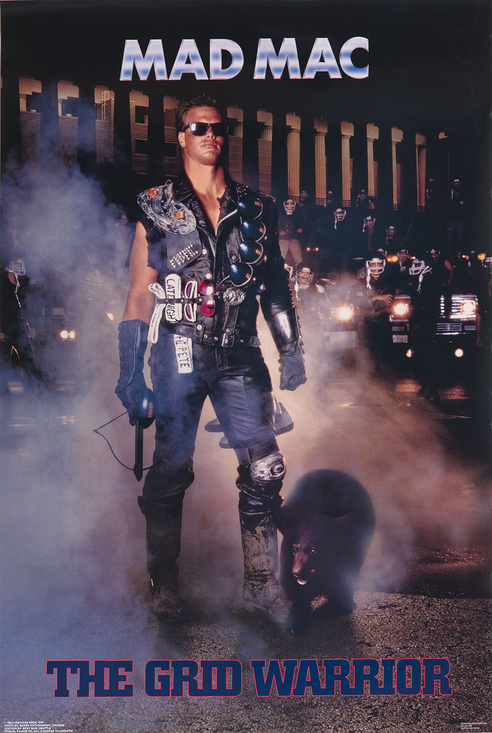 Jim McMahon as Mad Mac